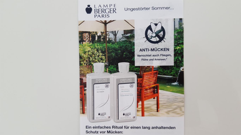 Ungestörter Sommer – Anti Mücke von Lampe-Berger